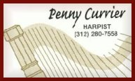 Penny Currier, harpist